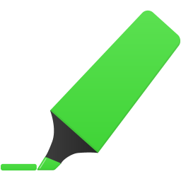 Highlightmarker green icon