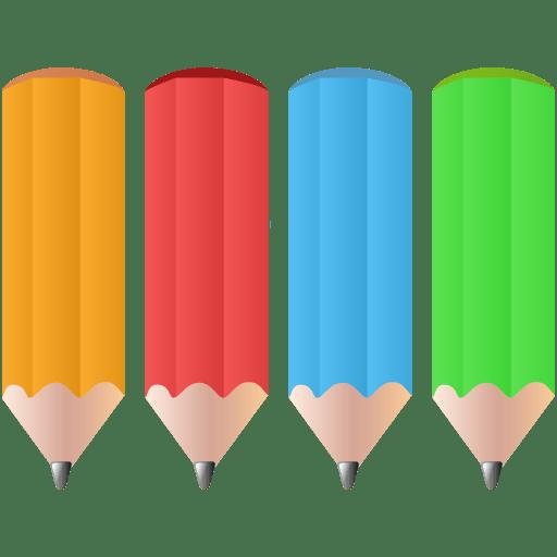 Color-pencils icon