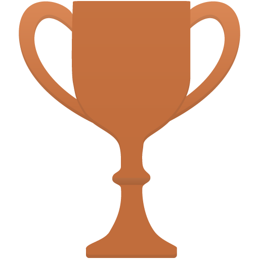 Cup-bronze icon