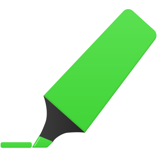 Highlightmarker-green icon