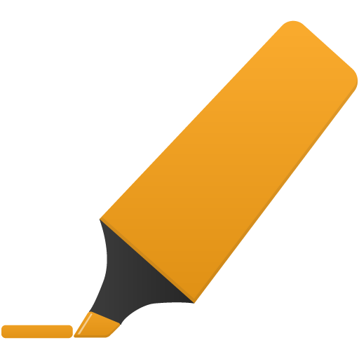 Highlightmarker-orange icon