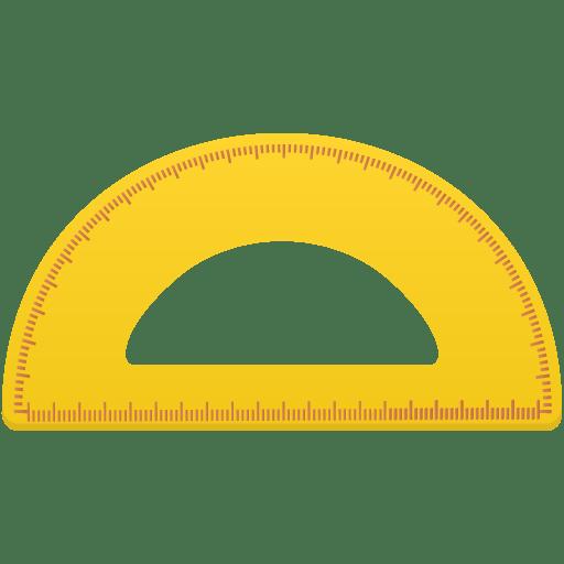 Semicircleruler icon