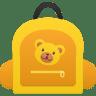 Schoolbag-girl icon