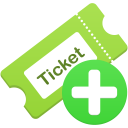 Add ticket icon