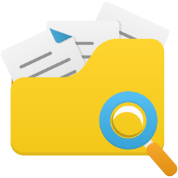 Open folder search Icon | Flatastic 8 Iconset | Custom ...