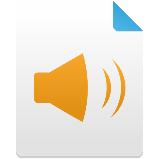 Audio-filevsvg icon