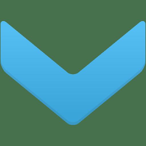 Navigate-down icon