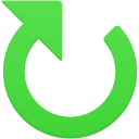 Clockwise-arrow icon