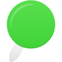 Pin green icon