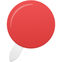 Pin red icon
