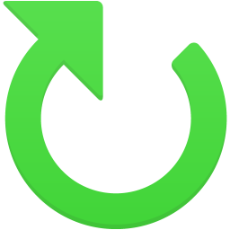 Clockwise arrow icon