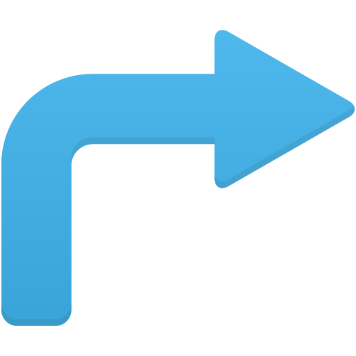 Arrow-turn-right icon