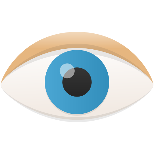 eye icon flatastic 9 iconset custom icon design