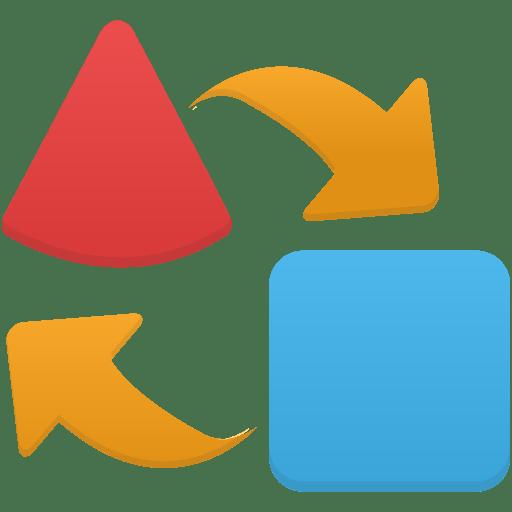 Import-export icon