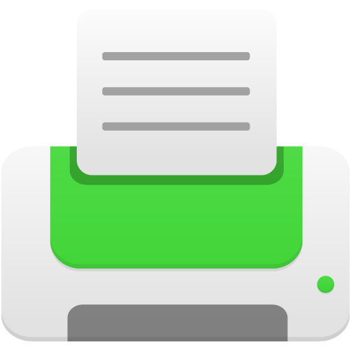 Printer-green icon