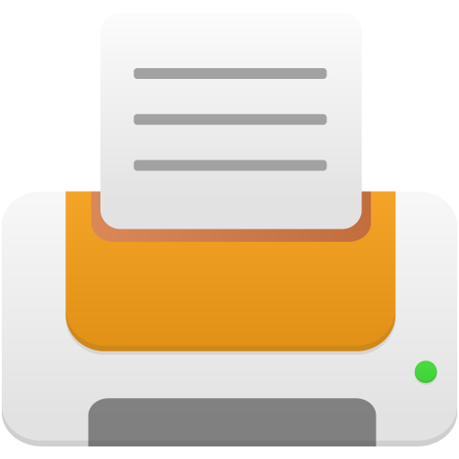 Printer-orange icon