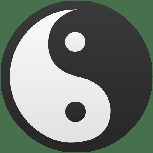 Yin-Yang-True-false icon