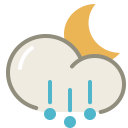 Hail-night icon