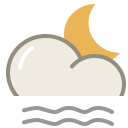 Lightfog night icon