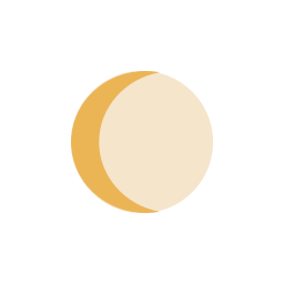 Moon waning Crescent icon