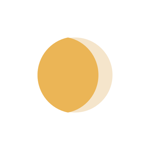 Moon Waning Gibbous icon
