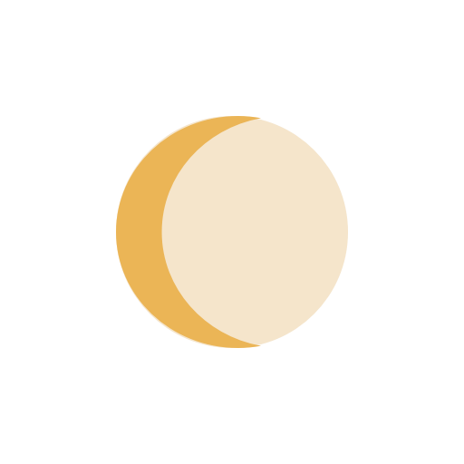 Moon-waning-Crescent icon
