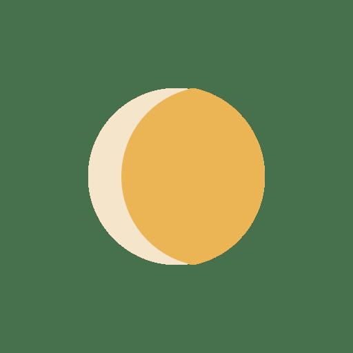 Moon-waxing-Gibbous icon