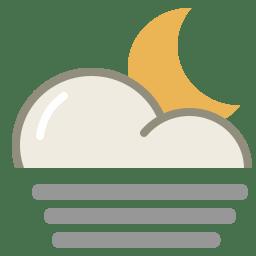 Fog night icon