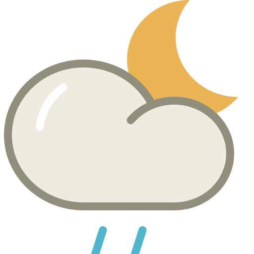 Drizzle-night icon