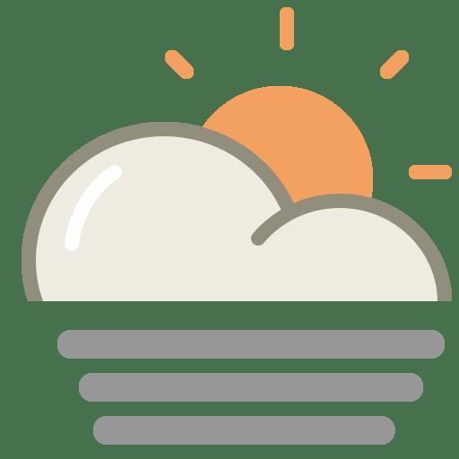 Fog-day icon