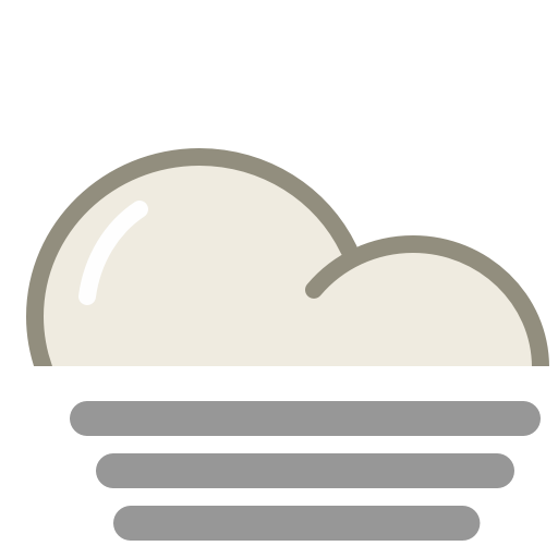 ... Weather Icon fog icon lovely weather part 1 iconset custom icon design