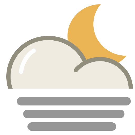 Fog-night icon