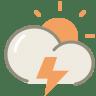 Thunder-day icon