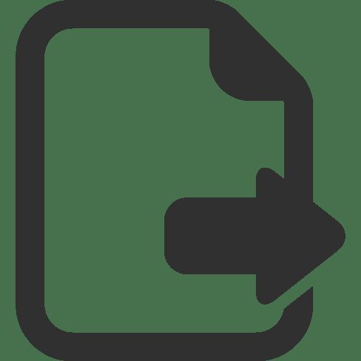 Export Icon Mono General 2 Iconset Custom Icon Design