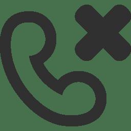 Call failed icon