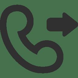 Call outgoing icon