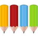 Color pencils icon