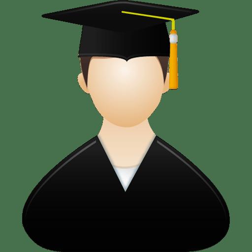 Graduate-male icon