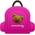 Schoolbag-girl icon