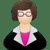 Teacher-female icon