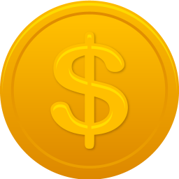 coin us dollar icon