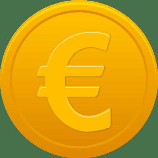 Coin Euro Icon Pretty Office 11 Iconset Custom Icon Design