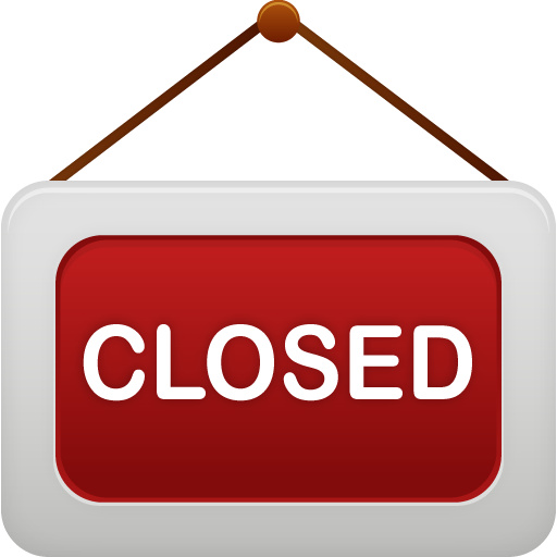 shop closed icon