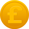 Coin-pound icon