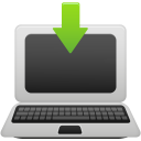 laptop download icon