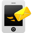 smartphone message send icon