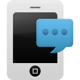 Smartphone SMS icon