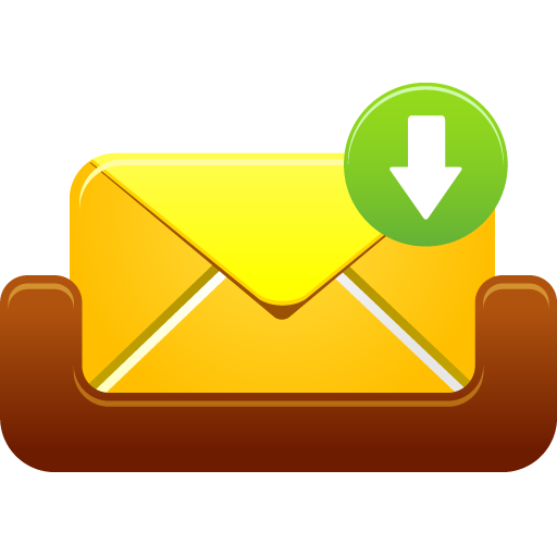 Mailbox message received Icon | Pretty Office 12 Iconset ...