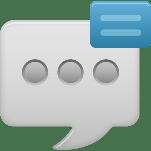 Message-bubble-show icon