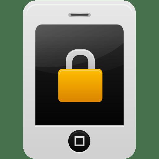 Smartphone-lock icon